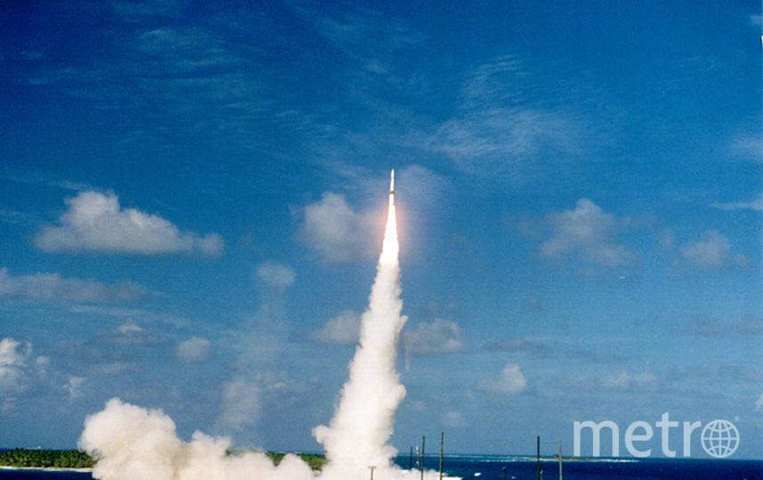 Баллистическая ракета. Фото Getty
