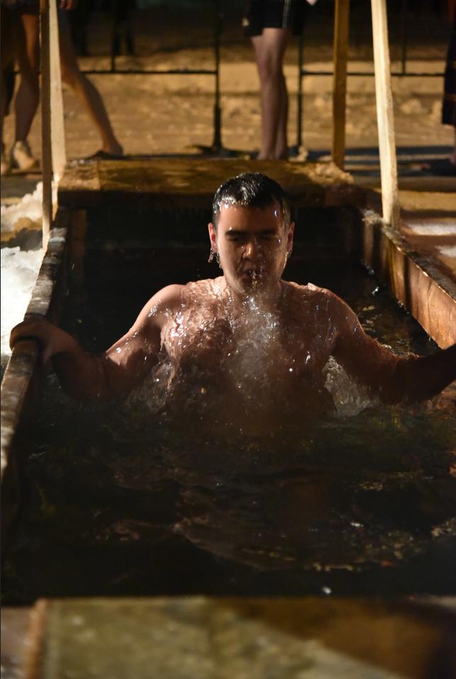 В Москве подготовят 59 мест для крещенских купаний. Фото Василий Кузьмичёнок