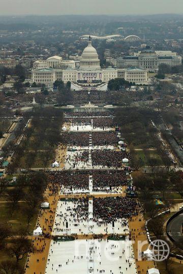 Инаугурация Трампа. Фото Getty