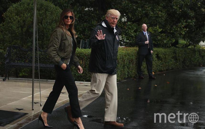 Дональд Трамп с женой. Фото Getty