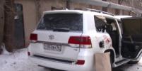 Видео с места жестокого убийства бизнесмена и его сына в Оренбурге появилось в Сети