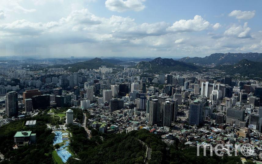 Южная Корея, Сеул. Фото Getty