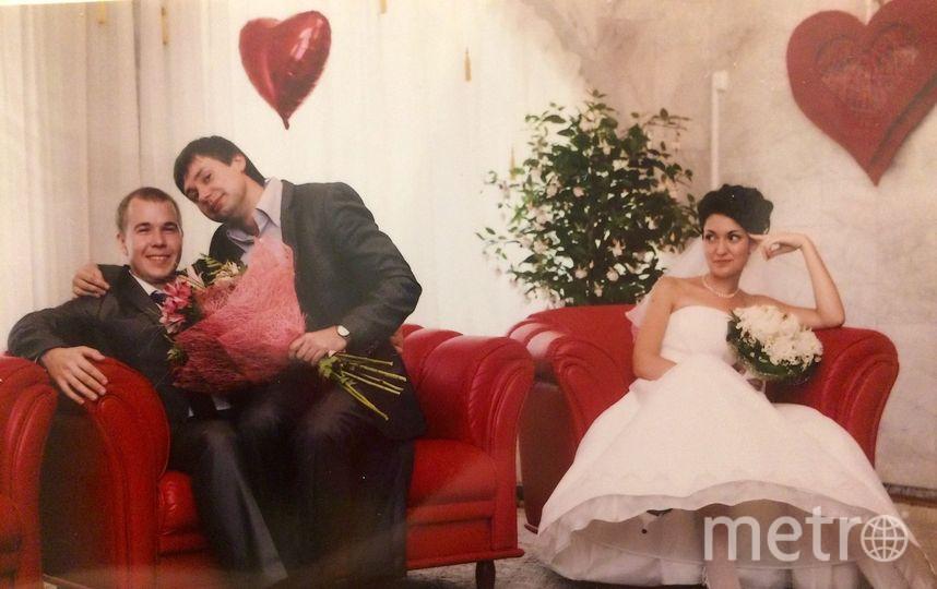 Фотограф на нашей свадьбе был человек с юмором, поэтому романтичных и нежных фотографий не получилось, зато вышло много весёлых. Фото Нонна