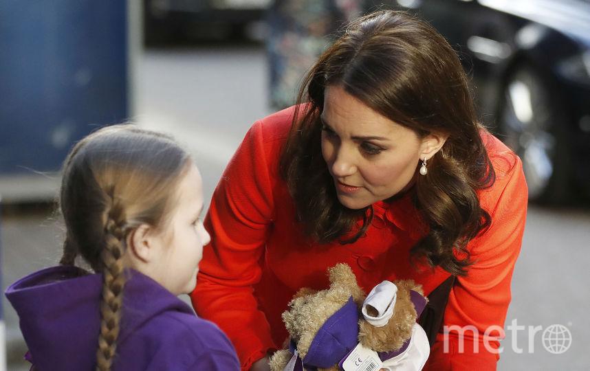 Кейт Миддлтон приехала в детский госпиталь. Фото Getty