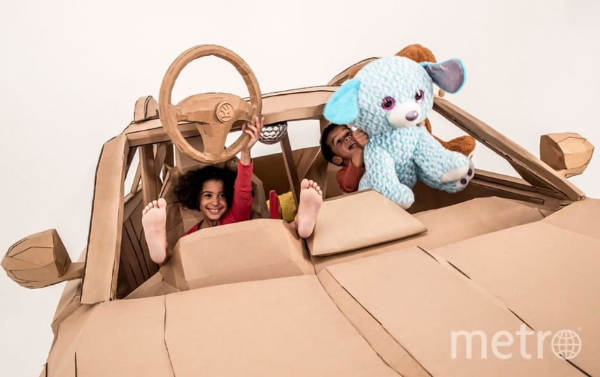 Дети машину оценили. Фото lazerian