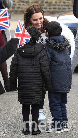 Кейт Миддлтон встретилась с учениками. Фото Getty
