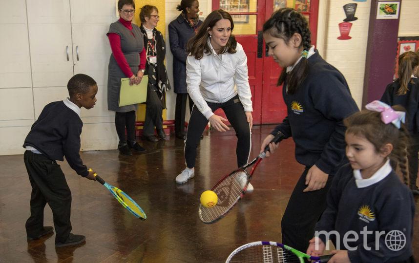 Кейт Миддлтон сыграла с детьми. Фото Getty