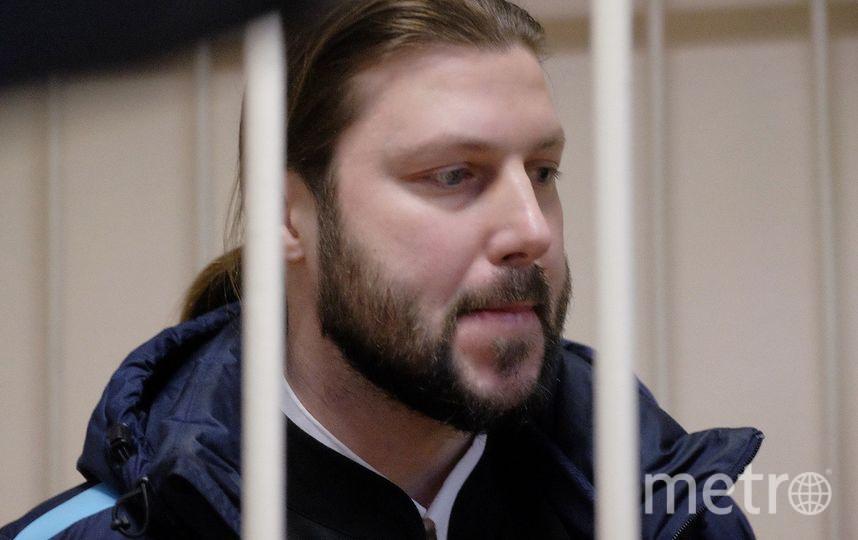 """Глеб Грозовский, фото во время судебного заседания. Фото """"Metro"""""""