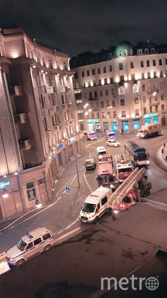 Фото пожара на Перекопской появились в Сети. Фото ДТП/ЧП, vk.com