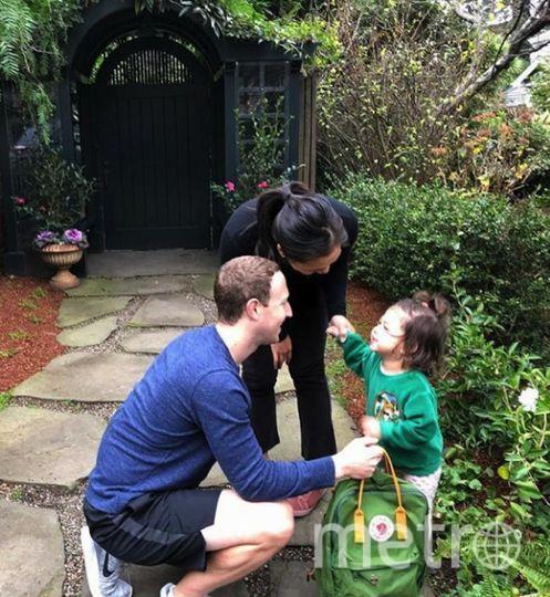 Марк Цукерберг поделился фото дочки. Фото https://www.instagram.com/zuck/