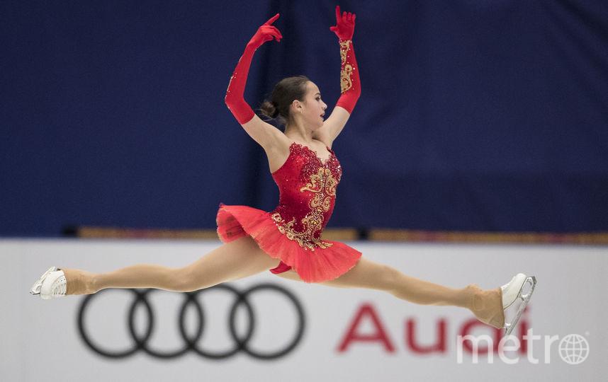 В декабре Загитова выиграла чемпионат России по фигурному катанию. Фото Getty
