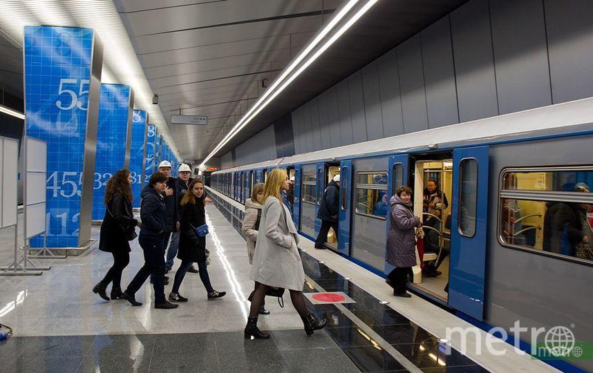 В московском метро могут ввести информирование о загруженности вагонов. Фото Василий Кузьмичёнок