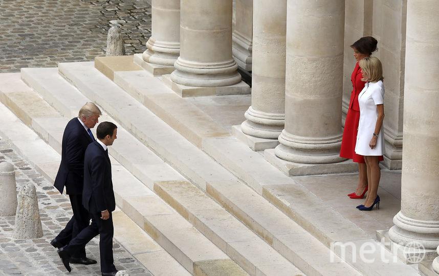 Сегодня Брижит Макрон - верный компаньон мужа. Фото Getty