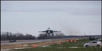 Автотрасса в Ростовской области стала летной полосой для трех истребителей
