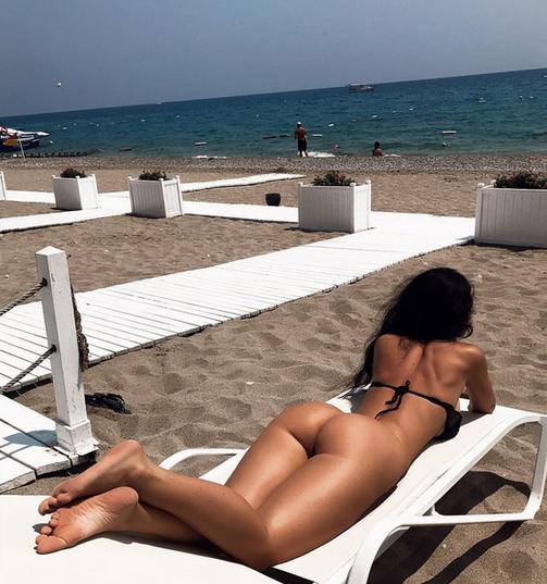 Гаянэ Багдасарян. Фото Скриншот Instagram: gayana_model