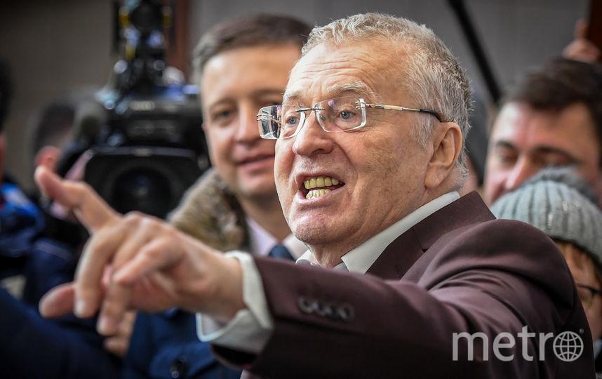 Владимир Жириновский. Фото AFP