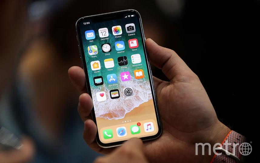 Apple iPhone X. Фото Getty
