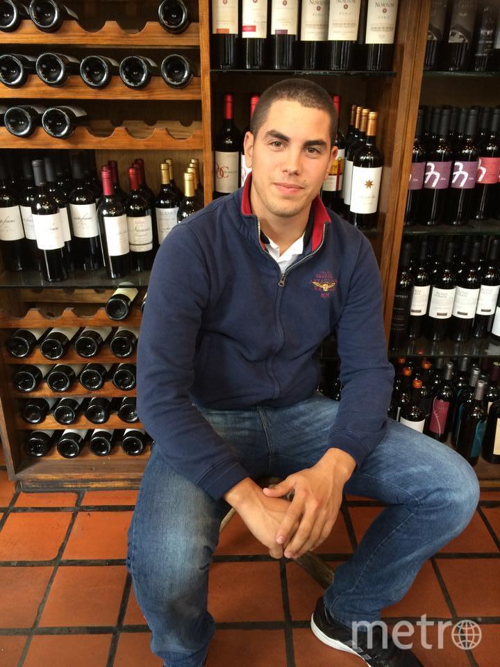 Погибший в Лондоне Филиппо Корсини. Фото www.facebook.com/Filippodlhhgc