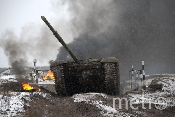 Танк Т-72. Фото Ульяна Соловьева, РИА Новости