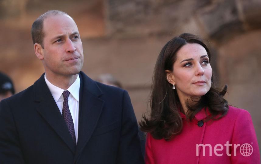Принц Уильям на мероприятии 18 января. Фото Getty