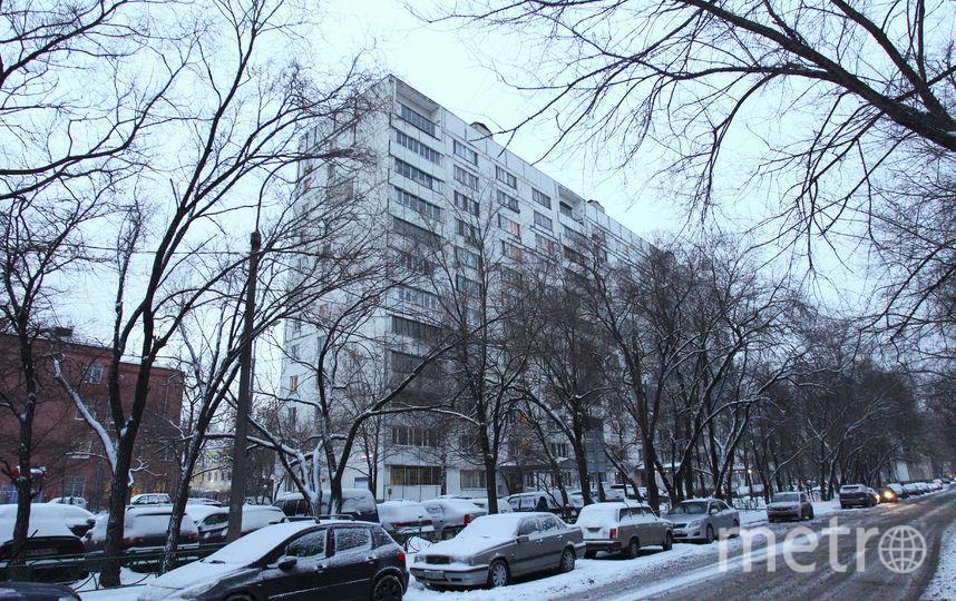 «Шоу» происходило на шестом этаже в этом доме на Большой Пионерской улице. Фото Василий Кузьмичёнок