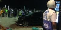 Автомобиль вылетел на пляж Копакабана в Рио и сбил людей: погиб младенец