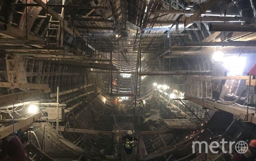 """Станцию «Нижняя Масловка» откроют в 2018 году. Фото Мария Беленькая, """"Metro"""""""