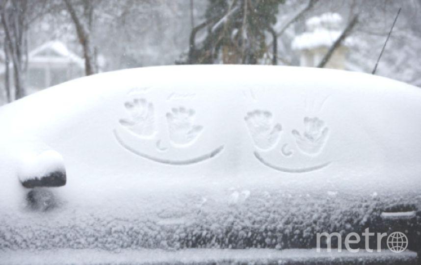 В Петербурге пока зима, но ненадолго.