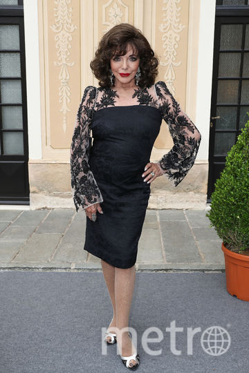 Британская актриса Джоан Коллинз, 84 года. Фото Getty