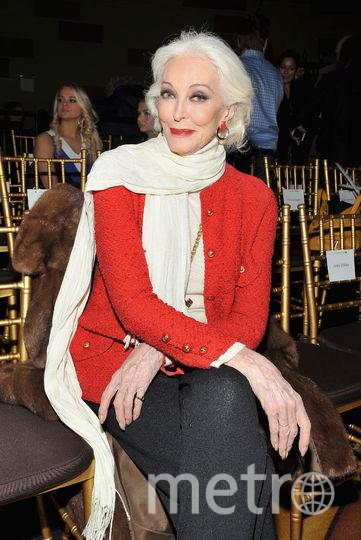 86-летняя модель Кармен Делль'Орефиче внесена в Книгу рекордов Гинесса как модель с самой длительной карьерой. Фото Getty
