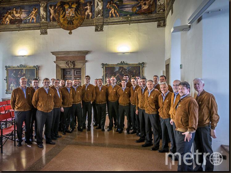 Альпийский мужской хор. Фото Предоставлено организаторами