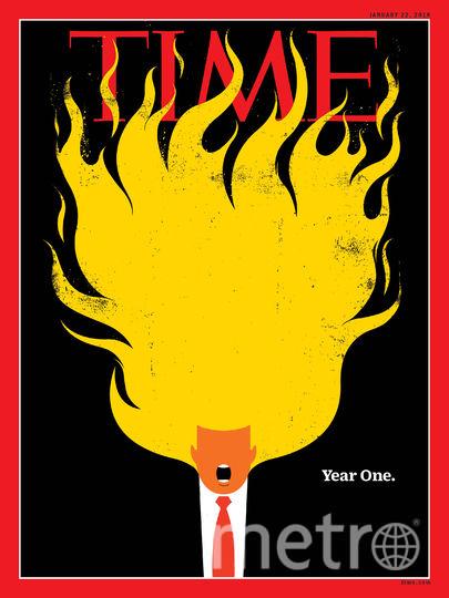 Обложка Time. Фото Time | New Yorker | Der SPIEGEL