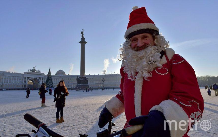 Велопарад Дедов Морозов. Фото Предоставлено организаторами