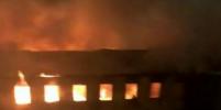 В Петербурге пожар в здании Военно-морской академии тушили около трех часов (видео)