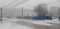 В Красноярске один из микрорайонов затопило водой из канализации