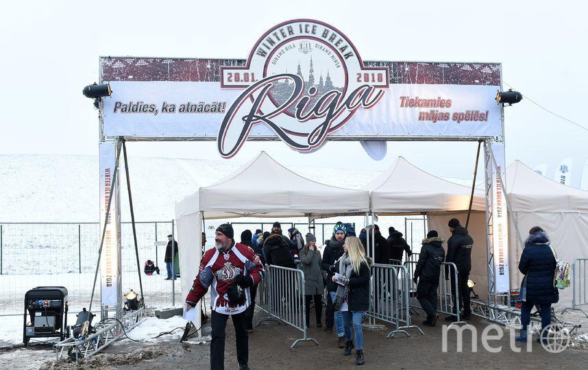 Матч под открытым небом, Winter Ice Break. Фото Юрий Кузьмин.