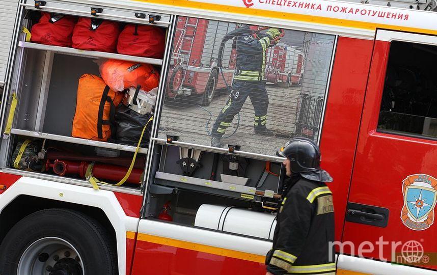 Три человека погибли при пожаре в центре Москвы. Фото Василий Кузьмичёнок