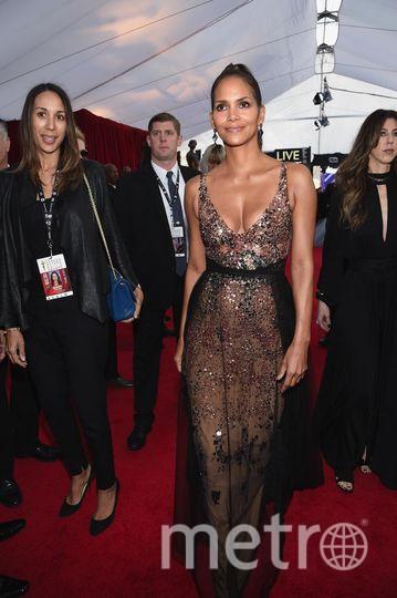 Холли Берри. на SAG Awards 2018. Фото Getty