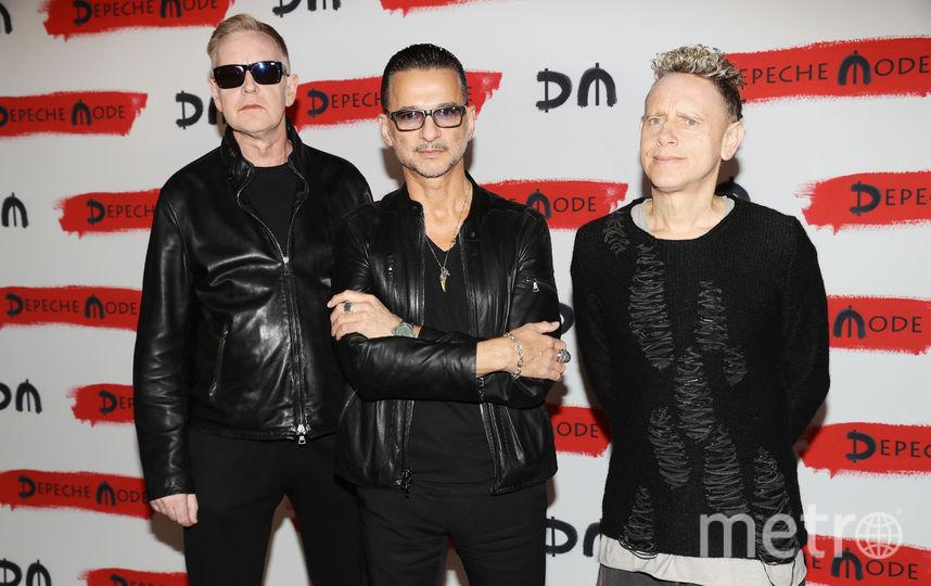 Depeche Mode. Фото Getty