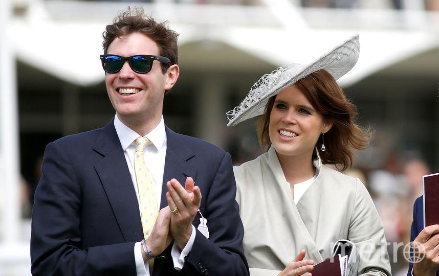 Принцесса Евгения и Джек Бруксбанк. Фото Getty