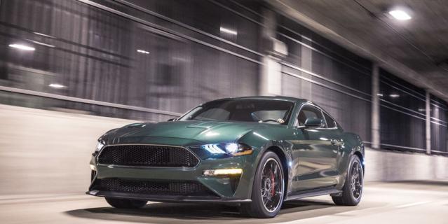 Mustang Bullitt.
