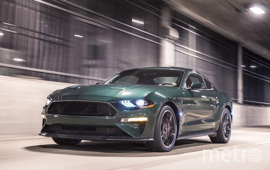 Mustang Bullitt. Фото Предоставлено организаторами