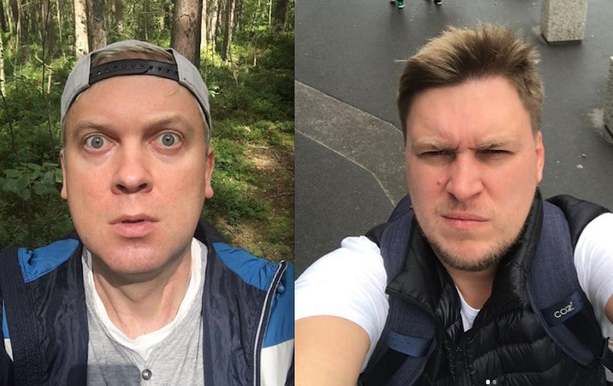 Сергей Светлаков и Александр Незлобин. Фото Instagram/ssvetlakov , Instagram/nezlobinofficial