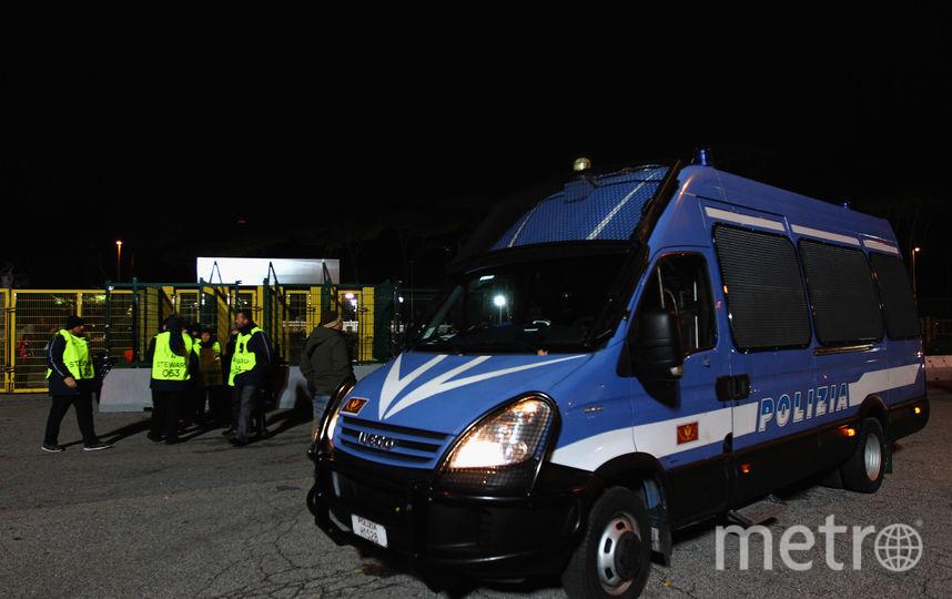 Итальянская полиция. Фото Getty