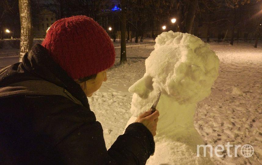 Петербург украсили скульптуры из снега. Фото предоставлены Мариной Щукиной, Алиной Подгорной, Евгенией Стадник, группой «Вконтакте» «РКЦентр Веле