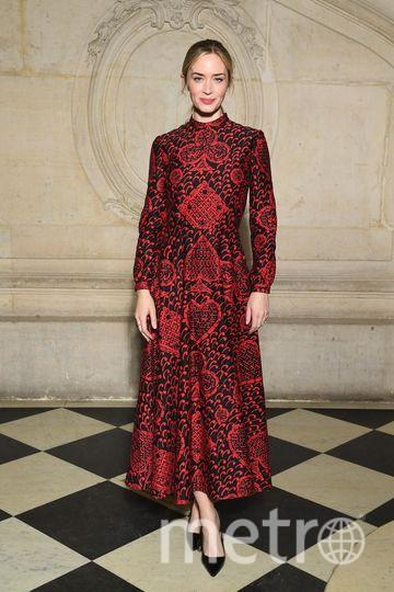 Бал Dior. Эмили Блант. Фото Getty