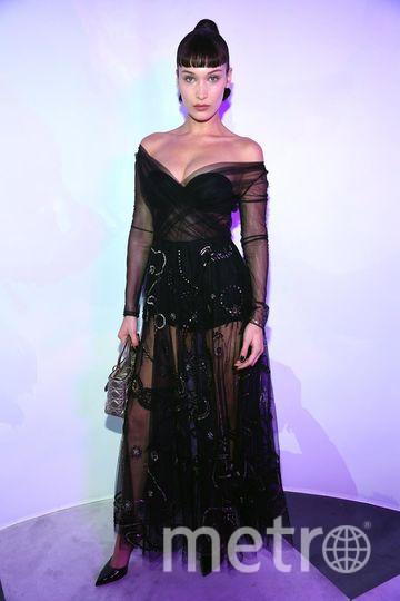 Бал Dior. Белла Хадид. Фото Getty
