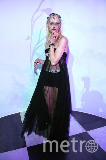 Бал Dior. Саша Пивоварова. Фото Getty