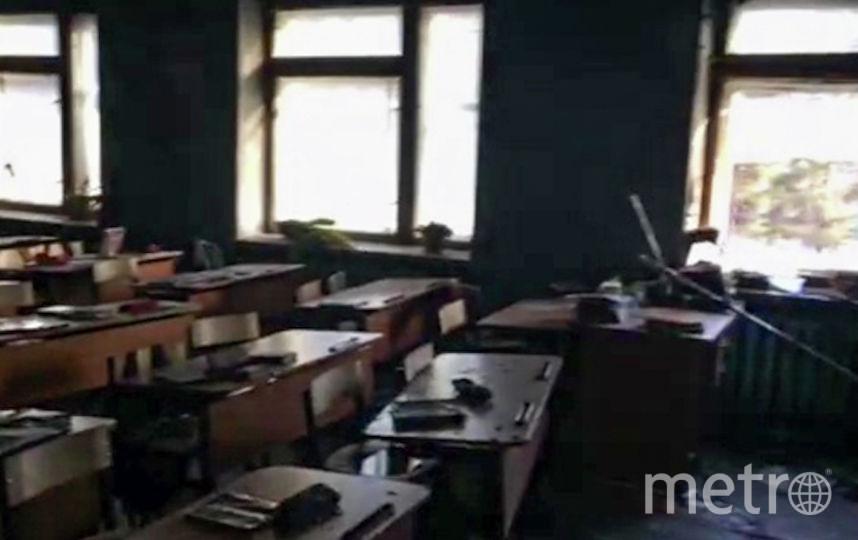 Класс после нападения. Фото РИА Новости
