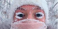 Снежные ресницы: в морозных регионах хвастаются красотой